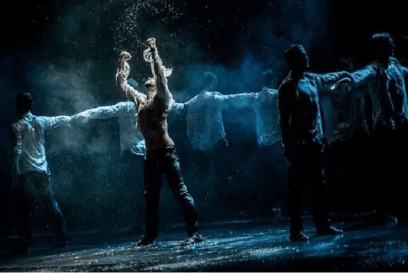 espetáculo dancing in the rain em lisboa
