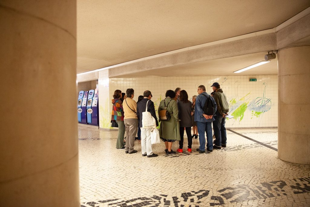 Há visitas guiadas às estações do Metro de Lisboa