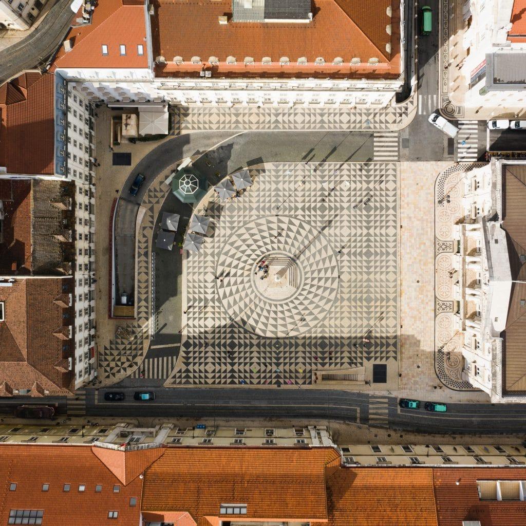 Praça do Município, a sede da Câmara Municipal de Lisboa