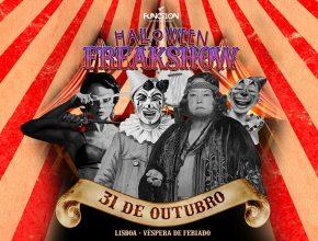 Halloween Freakshow, uma festa arrepiante ao som do melhor techno!