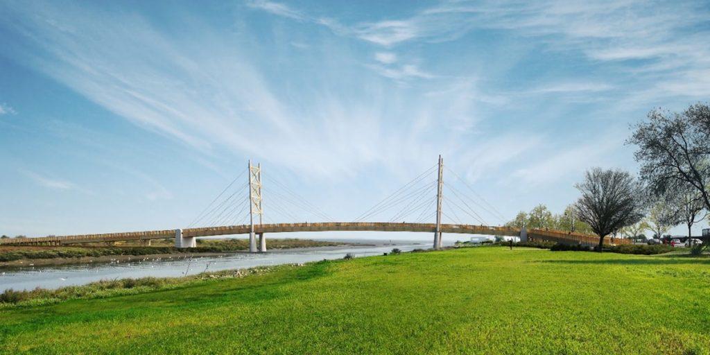 Ponte pedonal e ciclável liga Lisboa e Loures em 2022
