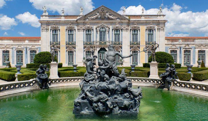 Roteiro pelos Lagos e Fontes dos Jardins do Palácio de Queluz