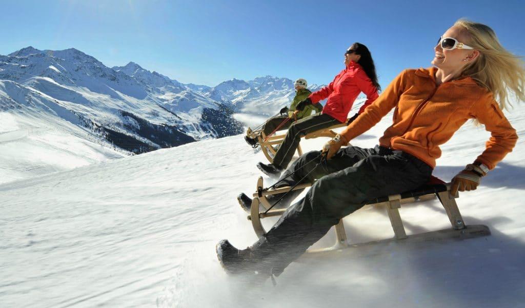 La Croix-Rousse se transforme en station de ski avec piste de luge dès aujourd'hui !