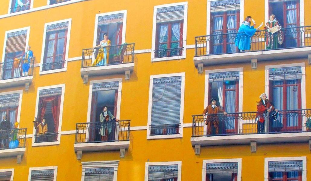 Top 12 des plus beaux trompe-l'oeil et fresques de Lyon
