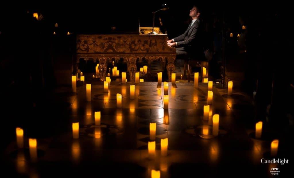 Nuits magiques au piano : Chopin, Mozart & Schumann à la lueur des bougies