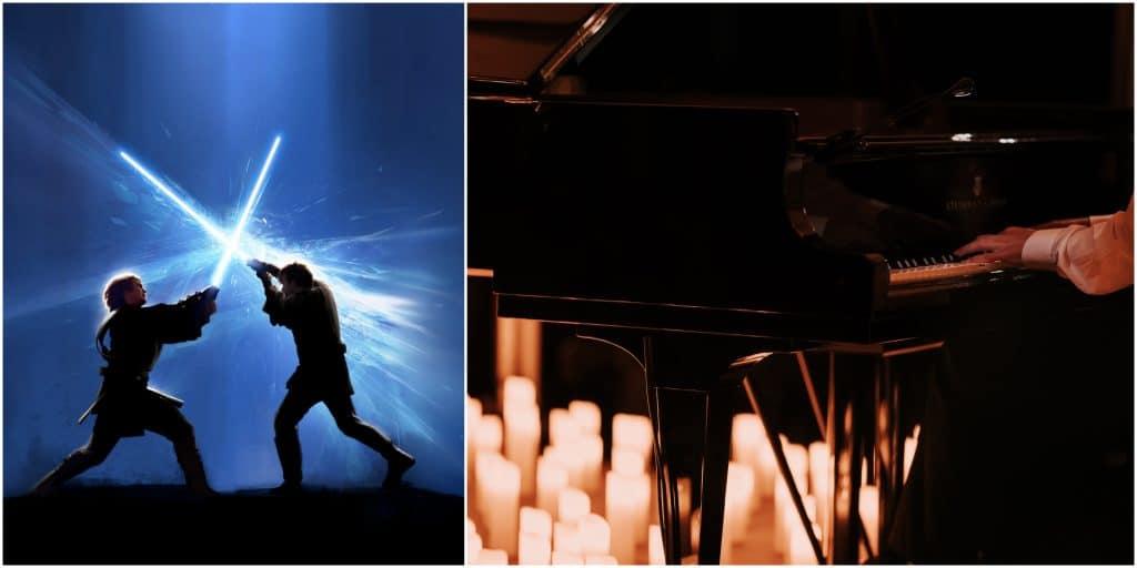 Candlelight Live musiques de films : un splendide concert à la bougie diffusé en direct chez vous !