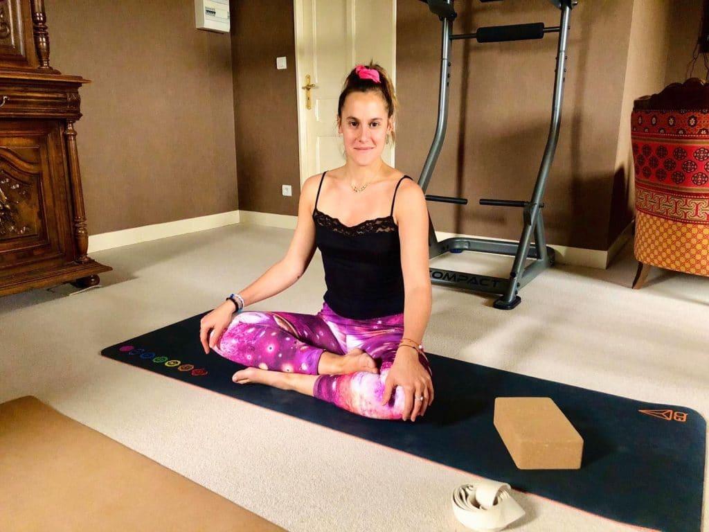 Le Yoga d'Agathe : découvrez ces cours de yoga à domicile !