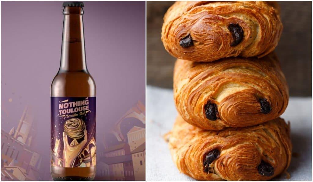 Une bière au pain au chocolat en vente ce jeudi sur internet !