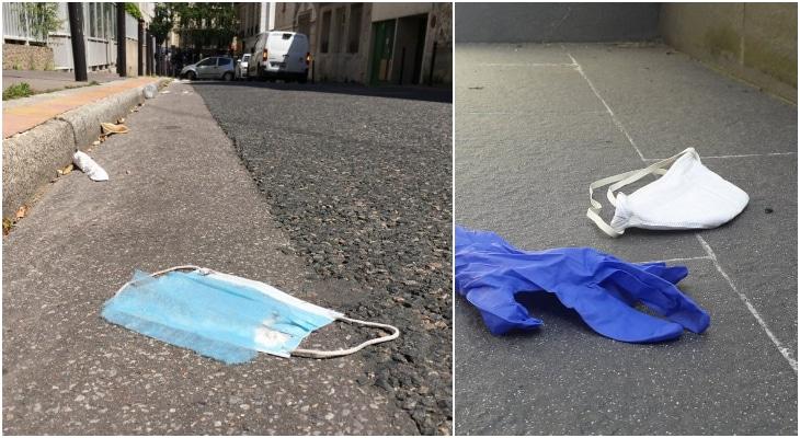 Bientôt une amende de 300 euros pour avoir jeté son masque dans la rue ?