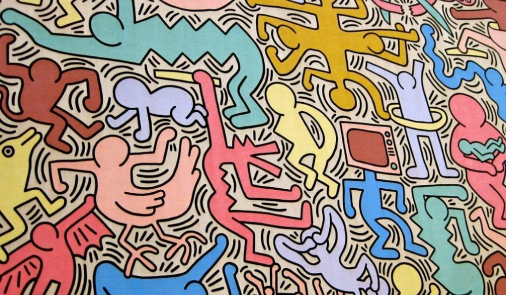 Une galerie d'art lyonnaise exposera l'oeuvre de Keith Haring gratuitement durant l'été