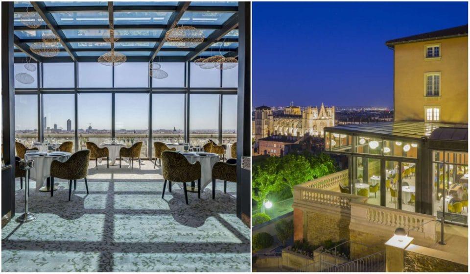 La nouvelle terrasse avec verrière de la Villa Florentine sera ouverte toute l'année !