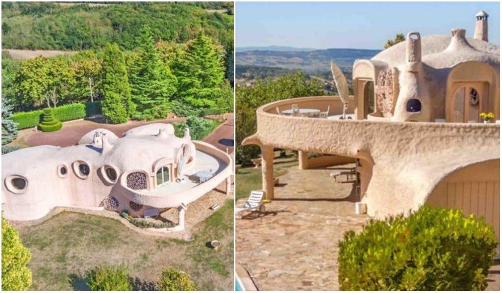 Une villa bulle éphémère est installée à deux pas de Lyon