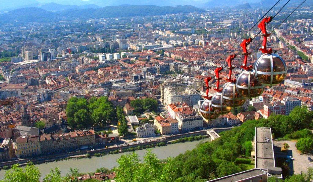 Deux lignes de téléphérique en projet pour Lyon !