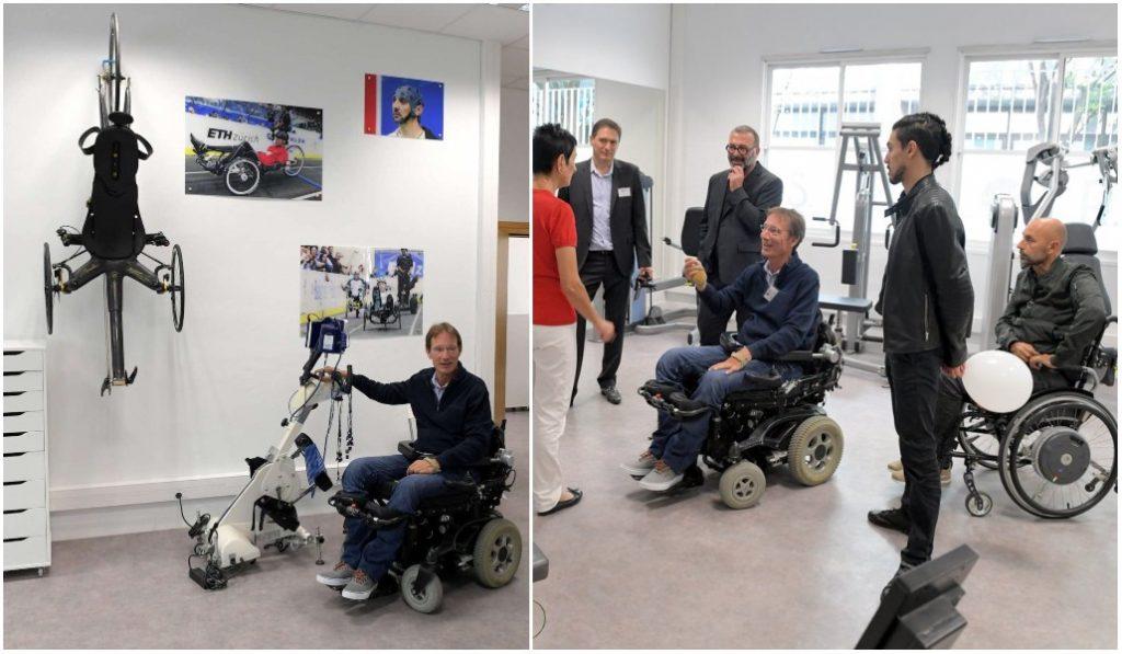 La première salle de sport dédiée aux personnes handicapées est à Lyon