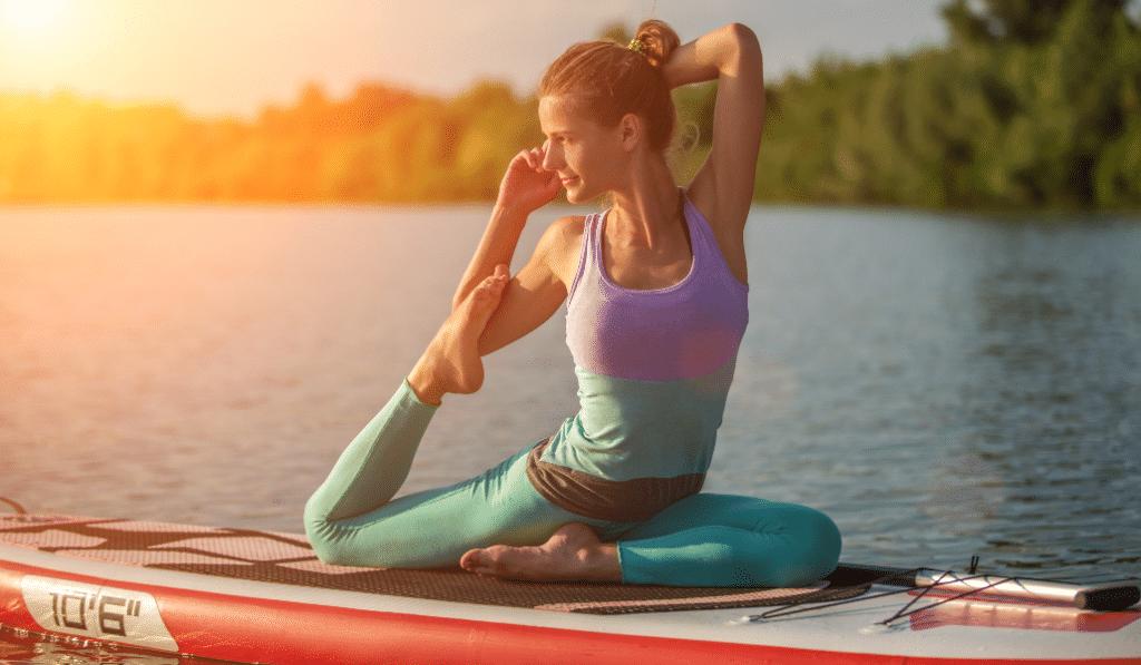 Insolite : du paddle yoga sur le Rhône !