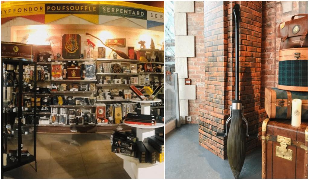 Une boutique officielle éphémère Harry Potter a ouvert à Lyon !