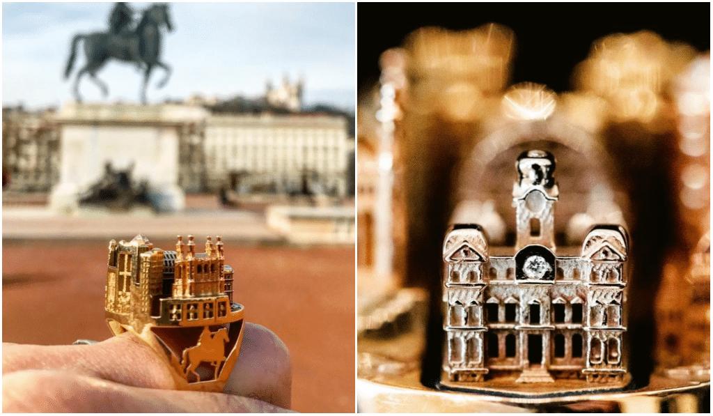 Ce joaillier crée de magnifiques bijoux à l'effigie de Lyon !