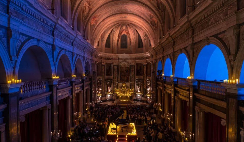 Les concerts à la bougie Candlelight à la Chapelle de la Trinité