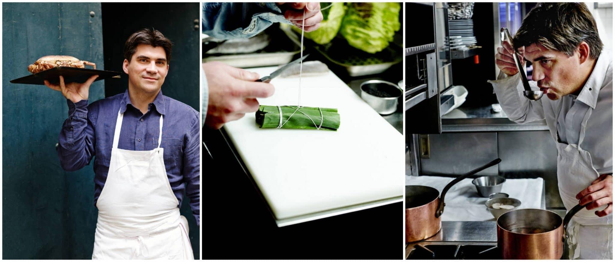 Un atelier de cuisine gastronomique accords mets & cidres Loïc Raison avec un Chef étoilé ! Gael Orieux