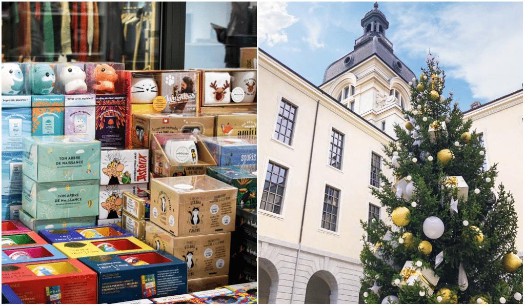 Grand Hôtel-Dieu : un sapin de Noël géant et un pop-up store Fnac pour les fêtes !
