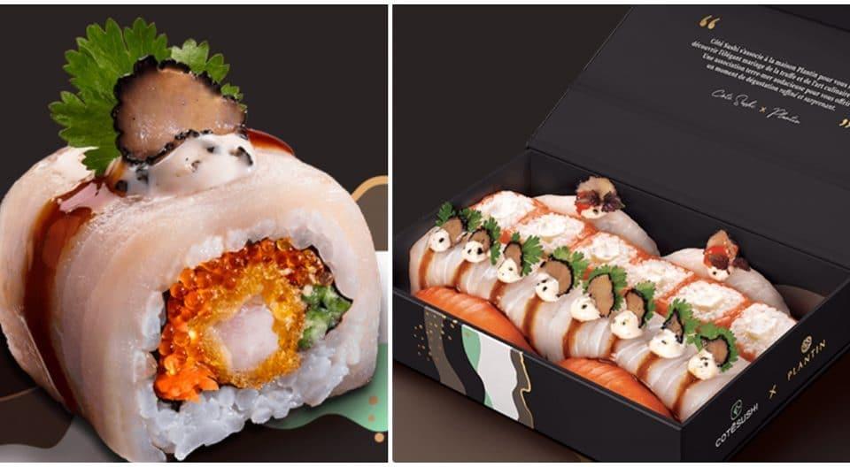Noël : Côté Sushi lance ses sushis à la TRUFFE en édition limitée !