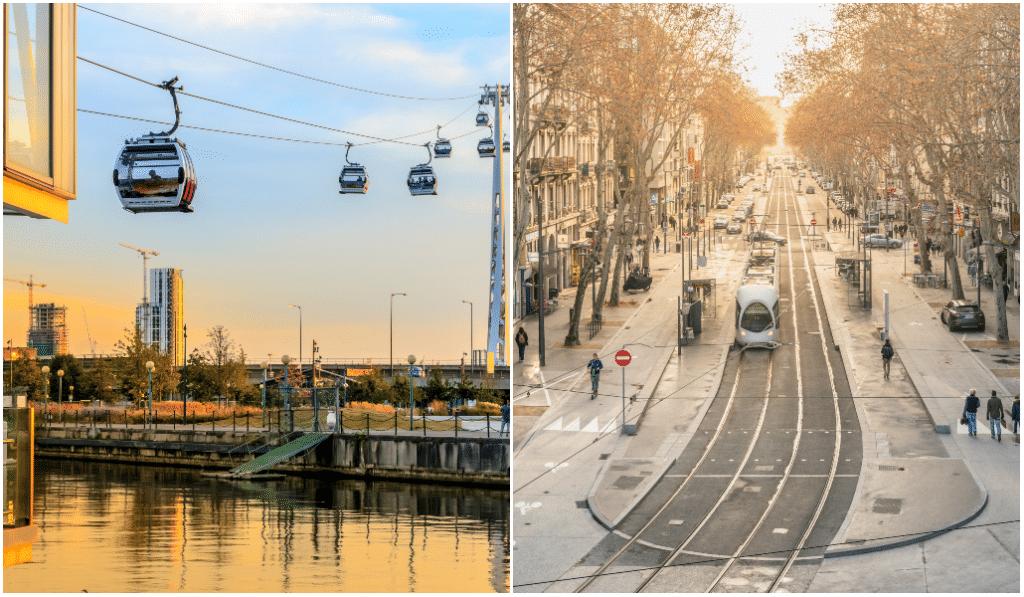 Lyon : quatre nouvelles lignes de tram et un téléphérique urbain d'ici 2026 !