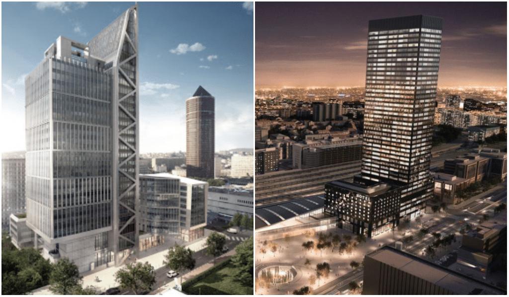Part-Dieu : deux nouvelles tours verront le jour en 2021-2022 !