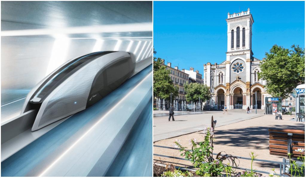 Un aérotrain pourrait relier Lyon à Saint-Étienne en 15 minutes dès 2025 !