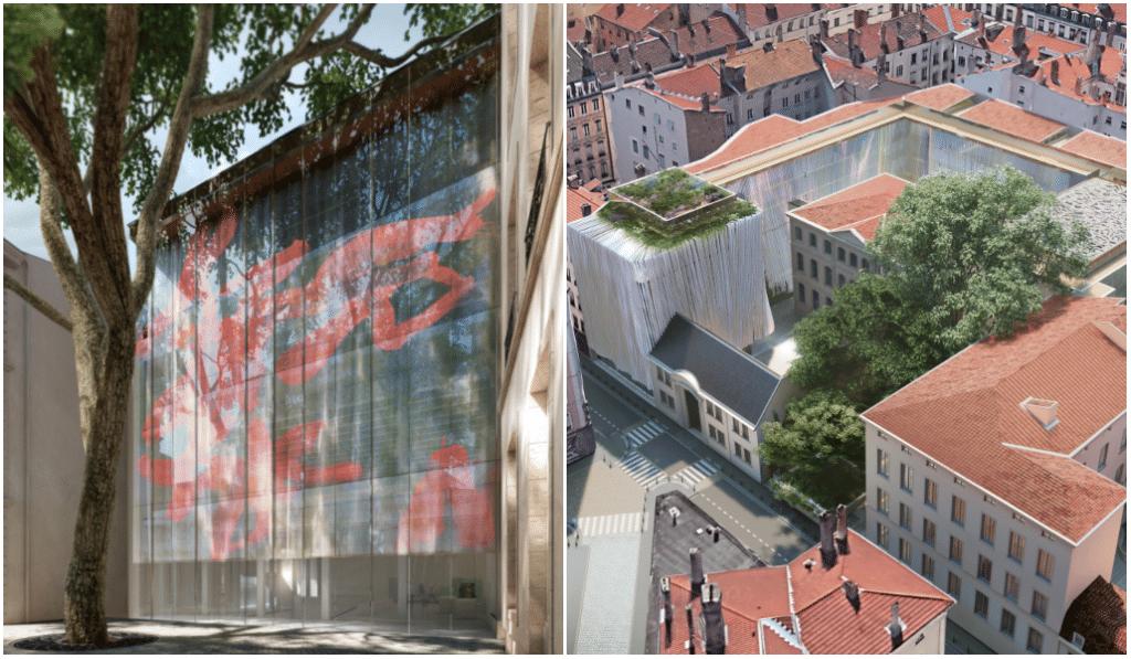 Voici ce à quoi ressemblera le nouveau Musée des Tissus de Rudy Ricciotti