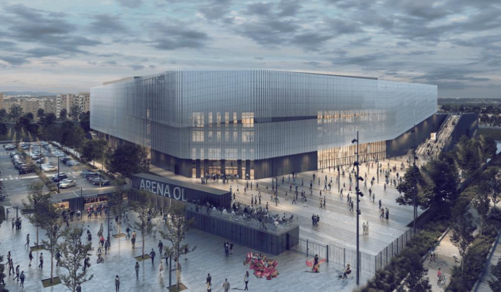 Voici à quoi ressemblera la future Arena du Parc OL en 2023