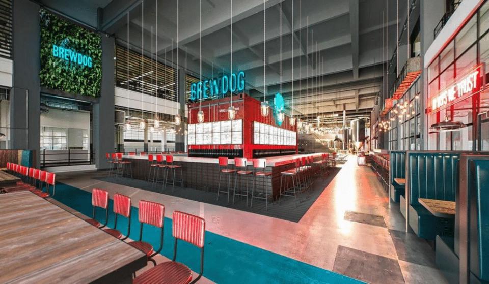 Un bar à bières géant signé Brewdog bientôt dans le 7è arrondissement de Lyon !