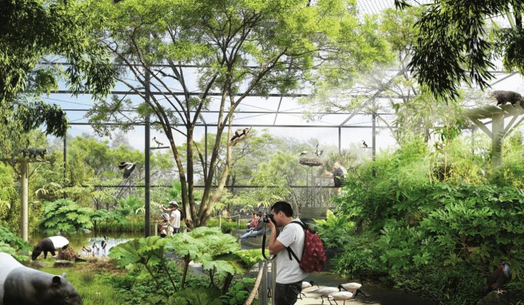 Découvrez en images les futures Forêts d'Asie au Parc de la Tête d'Or !