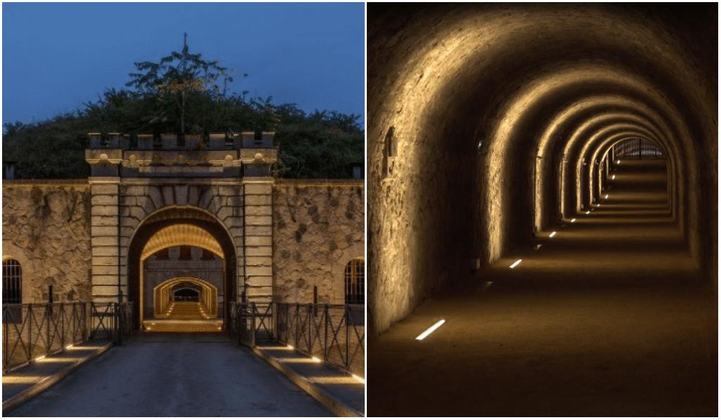 La caponnière du Fort de Feyzin ouverte au public pour la première fois depuis 1877 !