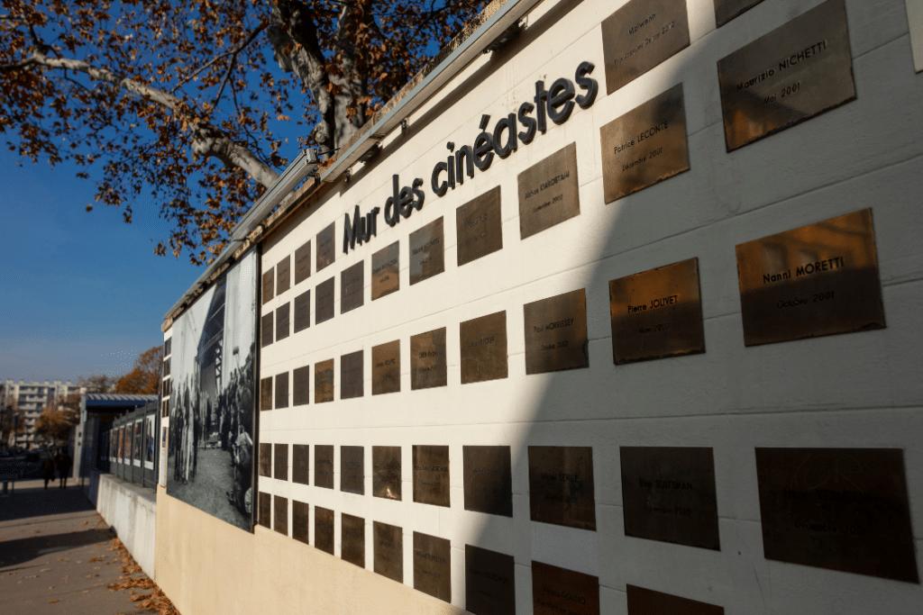 Le Mur des Cinéastes, un Walk of Fame à la française en plein coeur de Lyon !