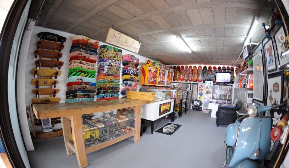 Le premier musée du skateboard de France vient d'ouvrir près de Lyon !