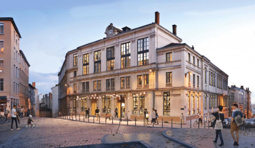 L'ex-collège Truffaut bientôt métamorphosé en resto-bar avec cour végétale !