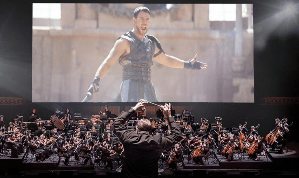 Inédit : un grand ciné-concert Gladiator débarque à Lyon !