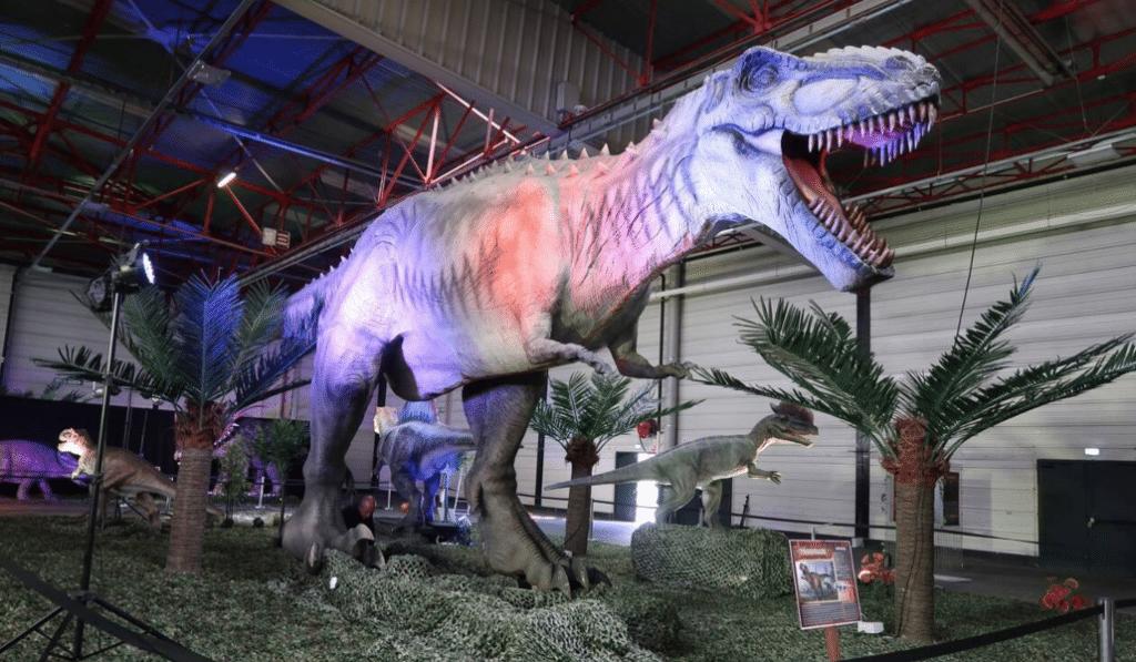 Une gigantesque exposition dédiée aux dinosaures à l'Eurexpo cet automne !