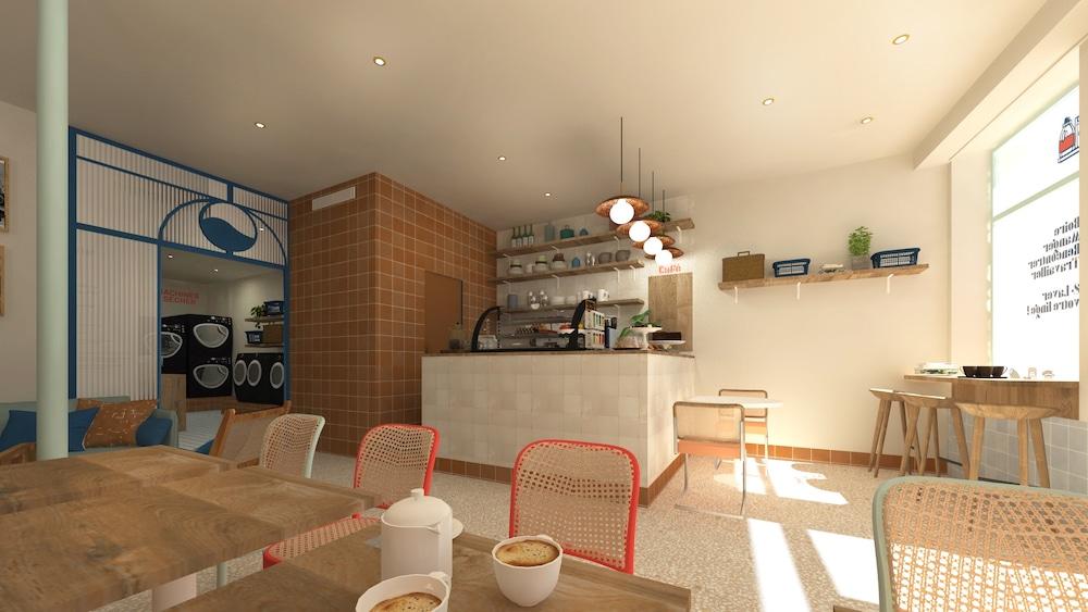 La toute première laverie-café de Lyon a ouvert ses portes dans le 7è !