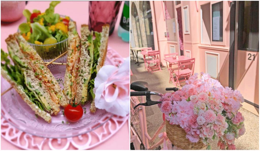 Un incroyable coffee-shop entièrement recouvert de roses a ouvert à Lyon !