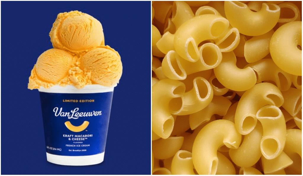 Vous l'attendiez ?! Voici la toute première glace au mac'n'cheese !