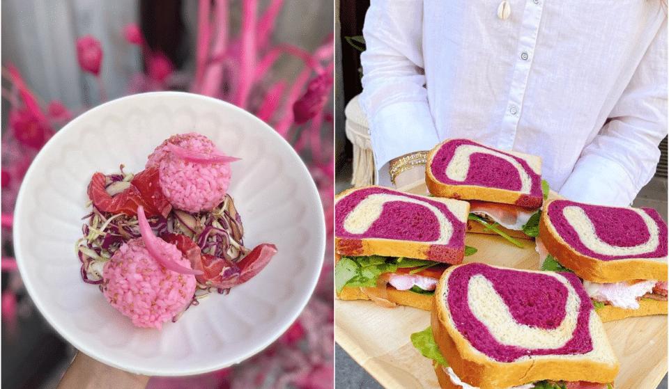 Fuchsia : ce nouveau restaurant lyonnais où toute la nourriture est rose !