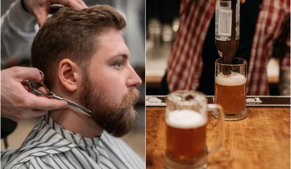 Insolite : un barbier à bières a ouvert ses portes à Bellecour !