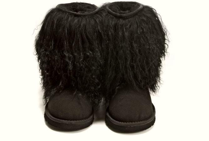 modas raras botas pelo
