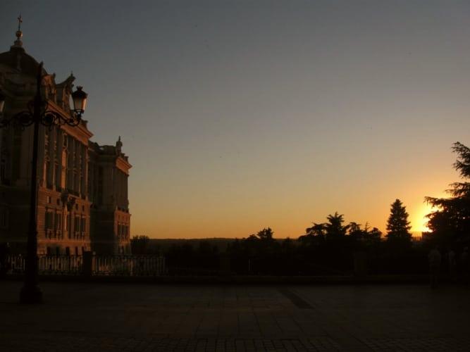 mejores atardeceres palacio real