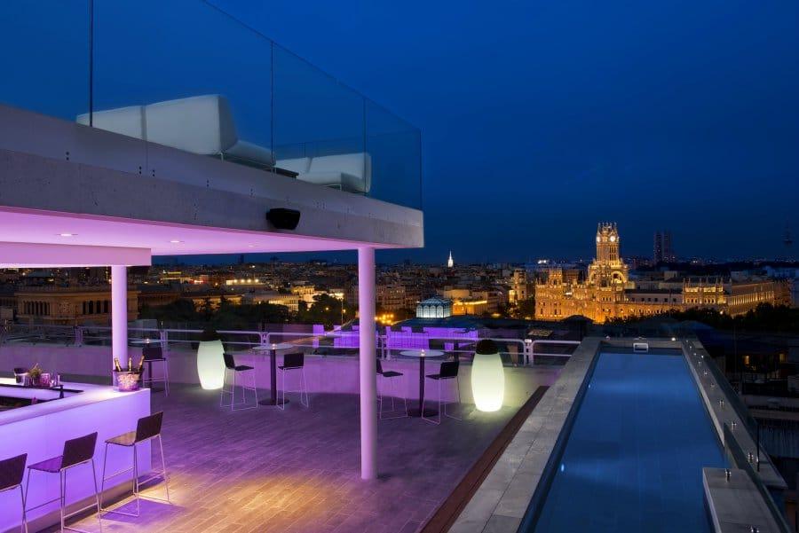 Este verano tomarás el sol y la luna: las mejores terrazas con piscina de Madrid