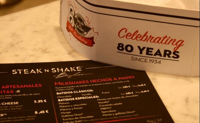 Steak'n Shake Madrid: ¡Qué bien te conservas con esos 80 años!
