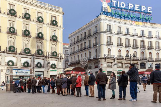 Cosas que harías en Madrid si te hubiera tocado la lotería