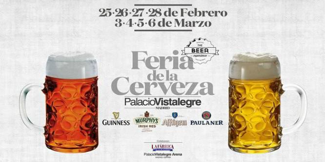 Feria de la Cerveza en Madrid: llega la fiebre del oro líquido