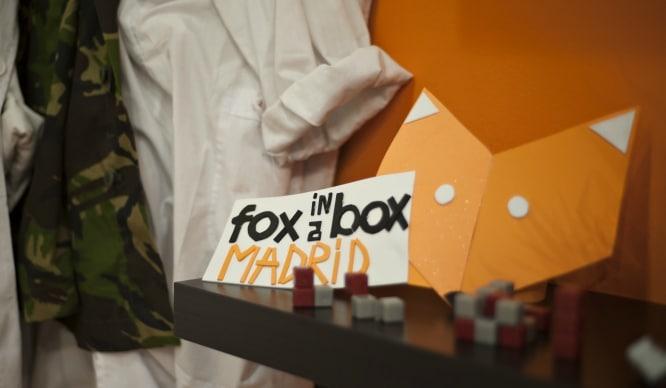 Fox in a Box Madrid: el escape room donde tu cerebro corre peligro